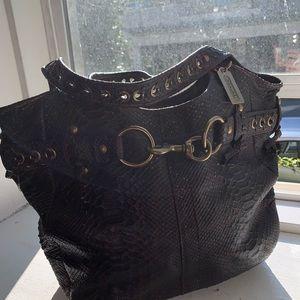Coach Ergo snakeskin Large leather tote 11324